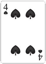 Spader Fyra