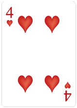 Hjärter Fyra
