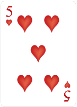 Hjärter Fem